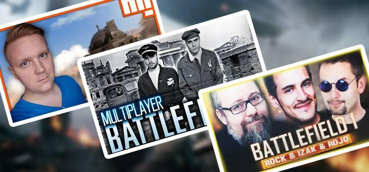 YouTuberzy i tryb multiplayer w Battlefield 1!
