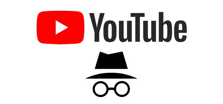 YouTube z trybem incognito!
